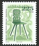 Ungarn - Antik stol/grøn - Postfrisk frimærke