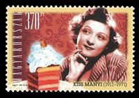 Ungarn - Kiss Manyi - Postfrisk frimærke