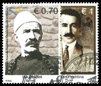 Kosovo - 1912 oprøret - Stemplet sæt 2v