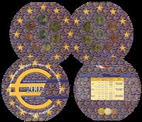 Frankrig møntsæt årssæt 2002