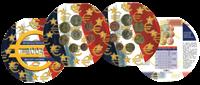 Frankrig møntsæt årssæt 2004