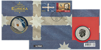 Møntbrev Australien Eureka