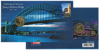 Møntbrev Aus. Sydney Harbour Bridge
