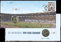 Møntbrev Belgien Van Damme