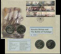 Møntbrev England TrAFAlgar