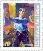Austria - Anton Faistauer - Mint stamp