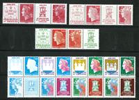 France - 14 stamps