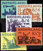 Nederland 1959 - Nr. 722-726 - Postfris