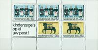 Netherlands 1975 - NVPH 1083 - Mint - Block Kinderzegels