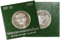 Sverige - mønt Verdensungdomsåre