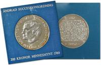 Sverige 1980 tronskiftelov møn