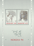 Danmark - Nordia 94 miniark - Postfrisk