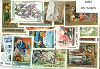 Hungary 300 different stamps