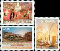 Monaco - Les trésor du Palais Princier - Série neuve 3v