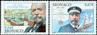 Monaco - Berømte personer - Postfrisk sæt 2v