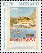 MONAKO - Bains de Mer - Postituore merkki