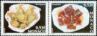 Monaco - Gastronomi - Mad: Postfrisk sæt 2v