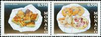 Monaco - Gastronomi - Desserter: Postfrisk sæt 2v