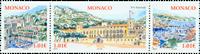Monaco - Nationaldag - Postfrisk sæt 3v