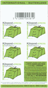 Belgium - Postal parcels - Mint booklet booklet pane green