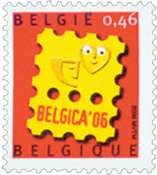 Belgien - Belgica - Postfrisk frimærke