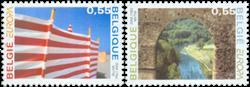 Belgien - Europa 2004 - Postfrisk sæt 2v