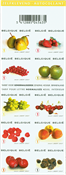 Belgium - Fruits - Mint booklet