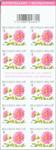 Belgien - Dahlia - Dahlia: Postfrisk frimærkehæfte