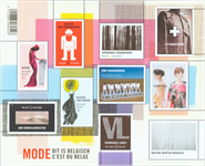 Belgien - Belgisk mode - Postfrisk miniark