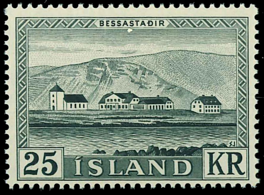 Island 1957 - AFA nr.320 - Postfrisk