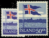 Island 1958 - AFA nr.328-329 - Postfrisk