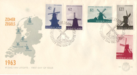 Netherlands - Mill Series on FDC