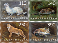 Hungary - Fauna - Mint set 4v