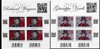 Hungary - Wagner/Verdi - Mint set of sheetlets