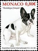 Monaco - Dog Exhibition - Mint stamp