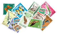 Afars and Issas 6 different stamps