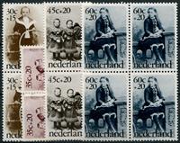 Netherlands 1974 - NVPH 1059-1062 - Mint - 4 block