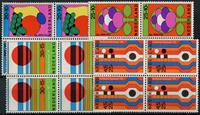Netherlands 1972 - NVPH 1003-1006 - Mint - 4 block