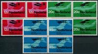 Netherlands 1968 - NVPH 909-911 - Mint - 4 block