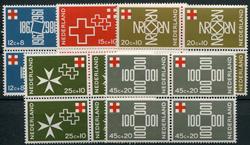 Holland 1967 - NVPH 889-893 - Postfrisk - 4-blok