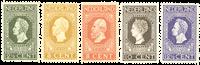 Netherlands 1913 - NVPH 90-94 - Mint