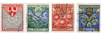 Netherlands 1926 - NVPH 199-202 - Cancelled
