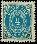 Danmark 1875 - AFA nr.23 - ubrugt