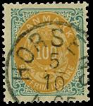 Danmark 1875 - AFA nr.31 - stemplet