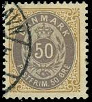 Danmark 1902 - AFA nr.30C - stemplet