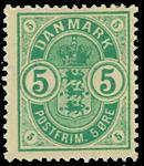 Danmark 1882 - AFA nr.32 - ubrugt