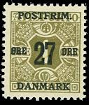 Danmark 1918 - AFA nr.85x - ubrugt