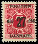 Danmark 1918 - AFA nr.87x - ubrugt