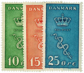Danmark 1929 - AFA nr.178-80 - postfrisk