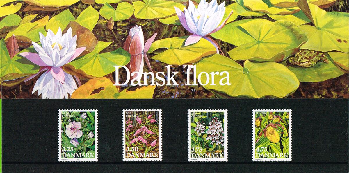 Danmark - Souvenirmappe Flora